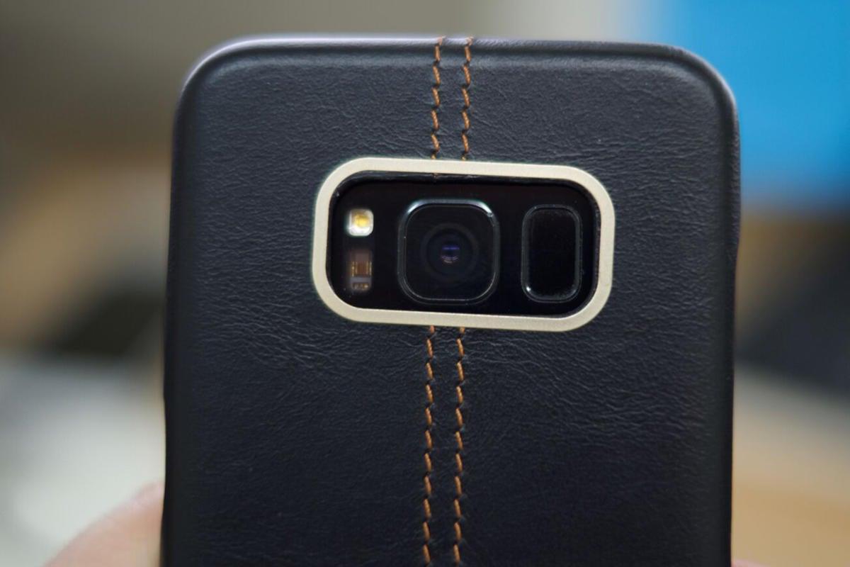 olixar leather case S8