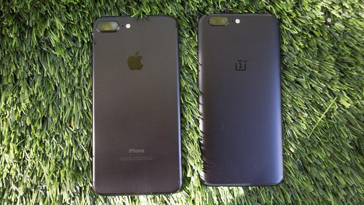 oneplus5 iphone comparison