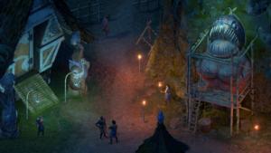 pillars deadifre village night