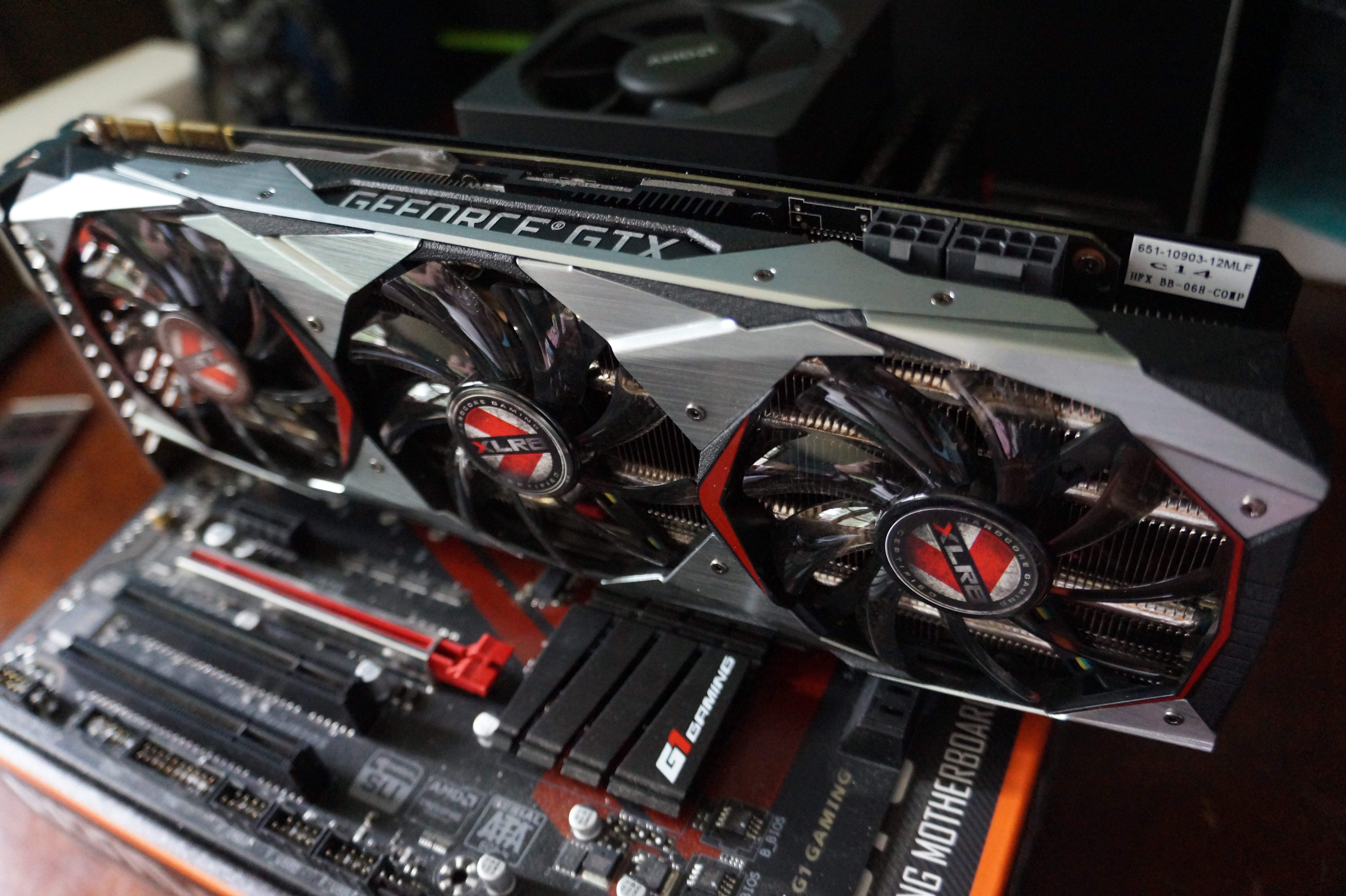 pny gtx 1080 ti blower review