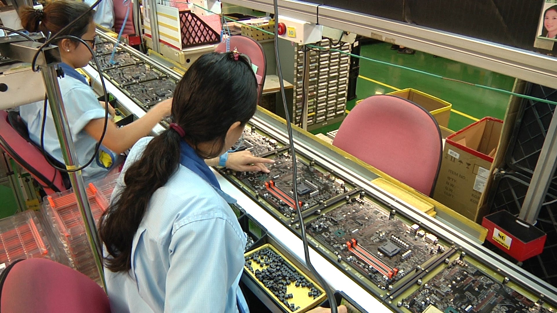 gigabyte motherboard factory