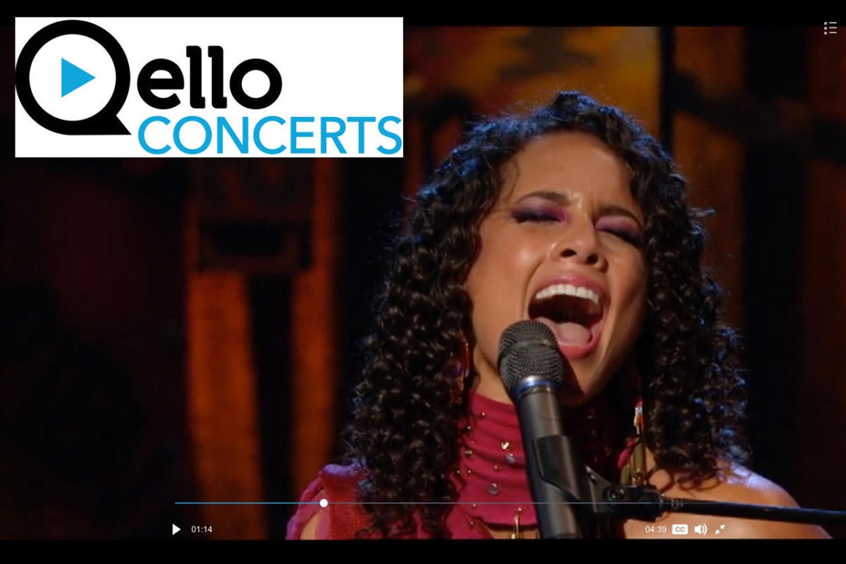 qello concerts alicia keys
