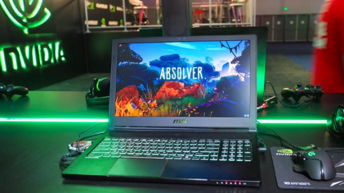 Nvidia Max-Q laptop absolver