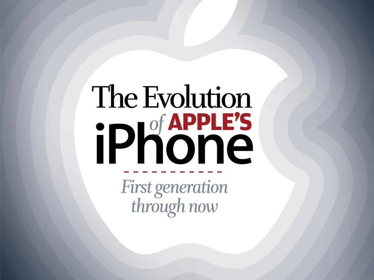 Apple\'s iPhone Evolution