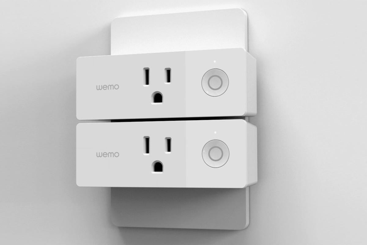 Stacked Wemo Mini Smartplugs