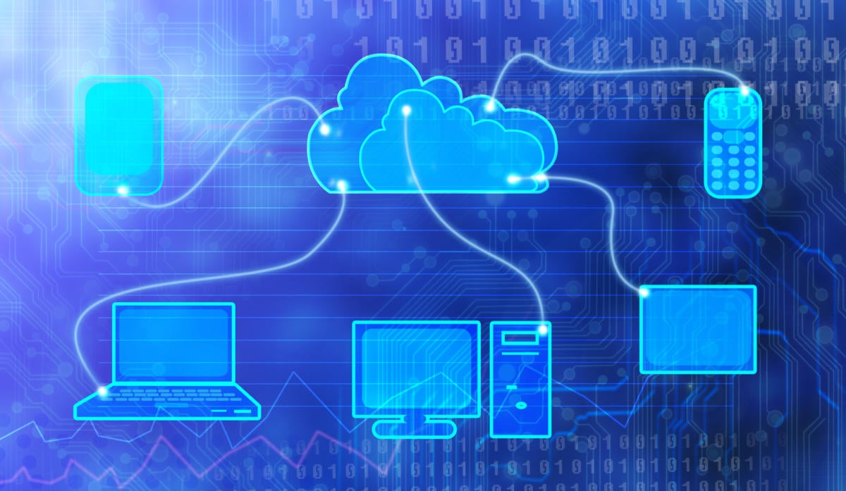 techy connected cloud