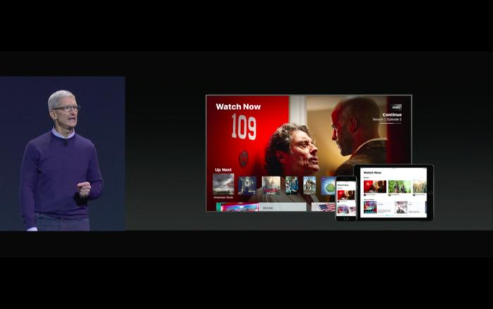 tim cook wwdc apple tv amazon video
