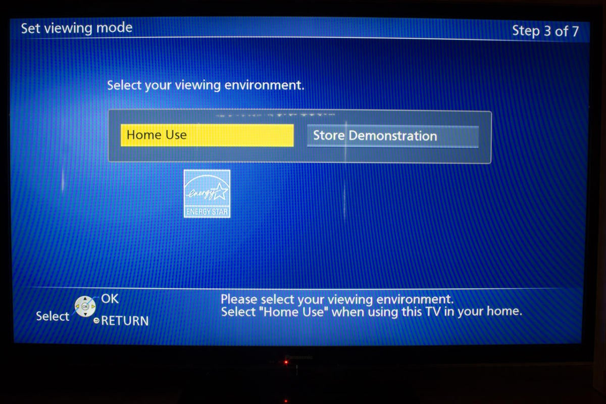TV display mode
