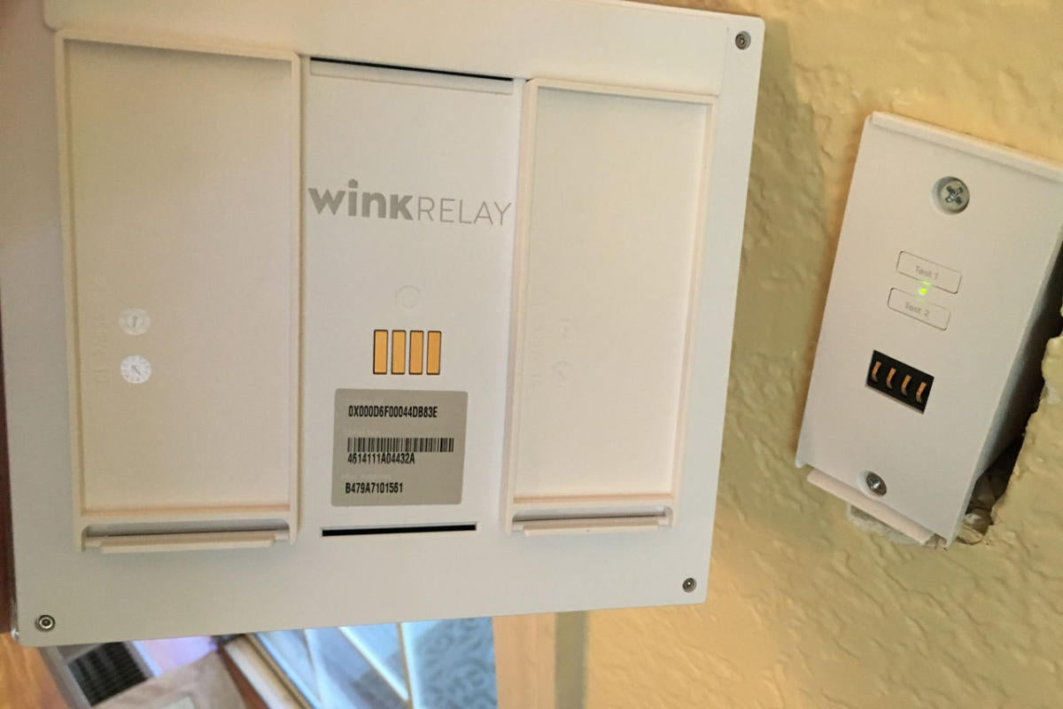 Wink relay in junction box