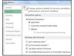 02 turn off the automatic workbook calculation option