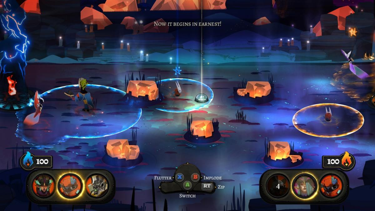 Pyre Review Fantasy Sports Pcworld