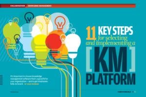 Computerworld - 11 Key Steps for Selecting and Implementing a KM Platform [2017]