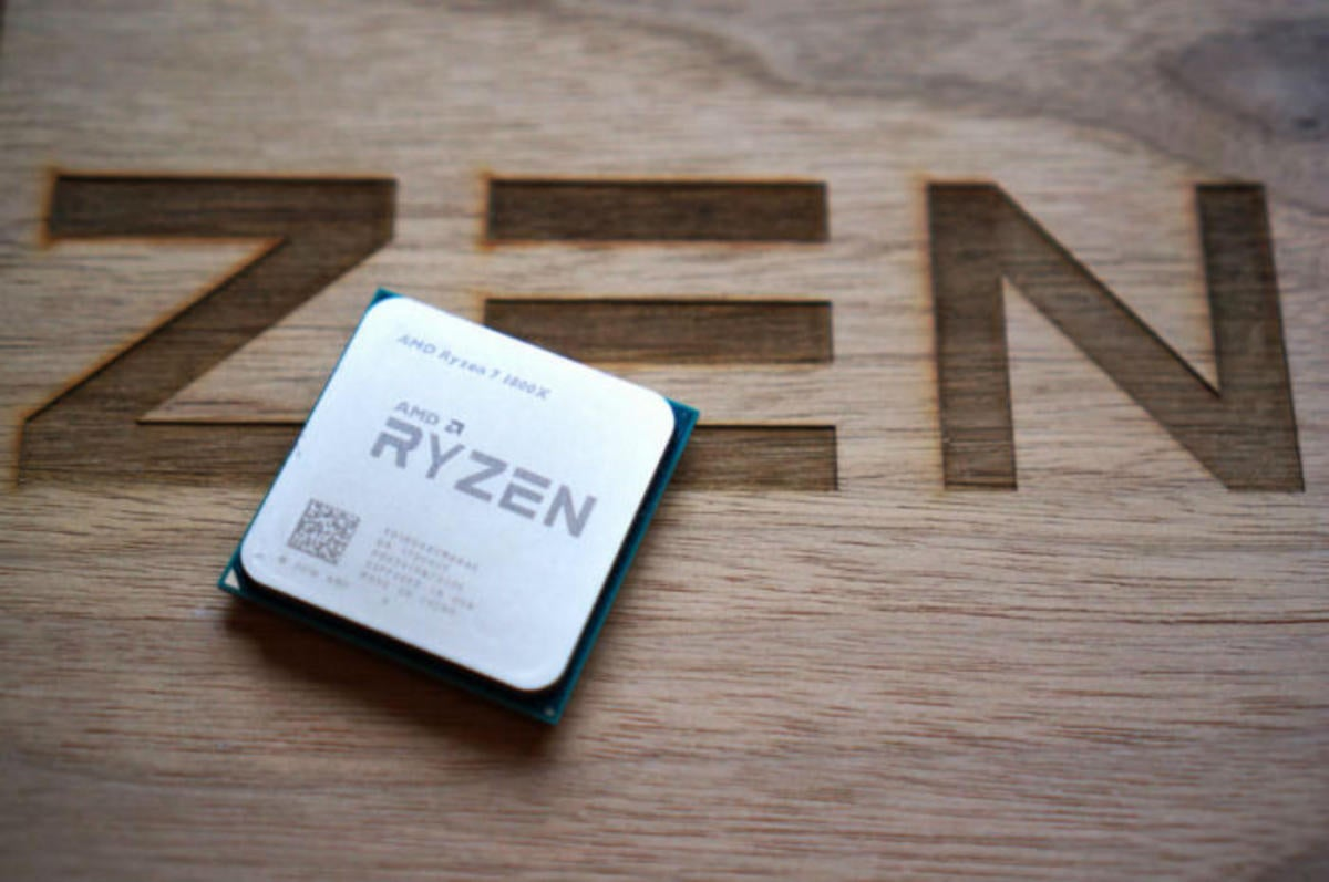 amd ryzen cpu wooden crate