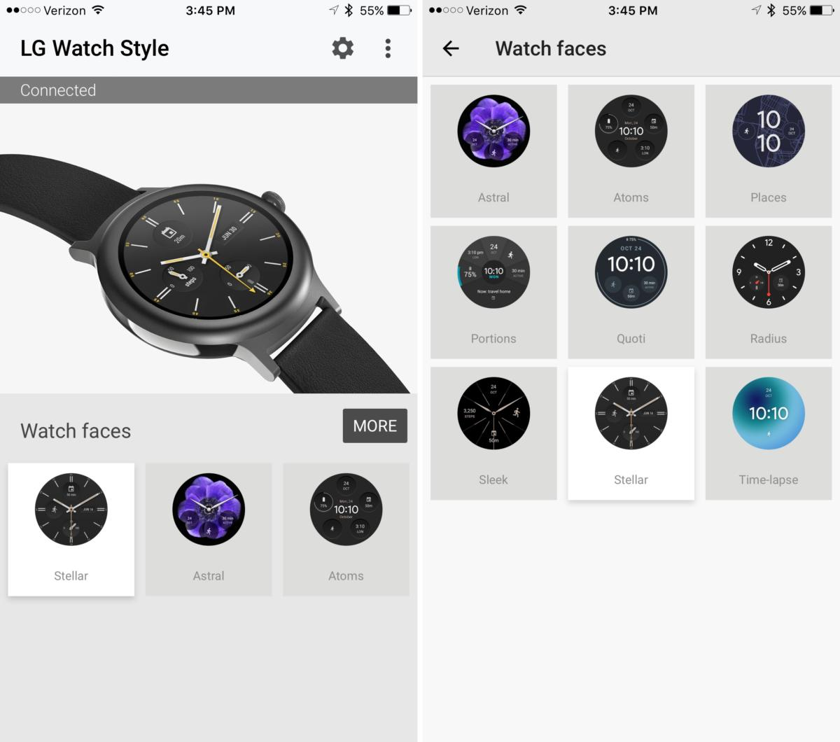 How to use an Android Wear watch with an iPhone—and why you might