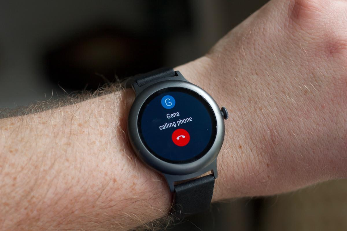android wear iphone call