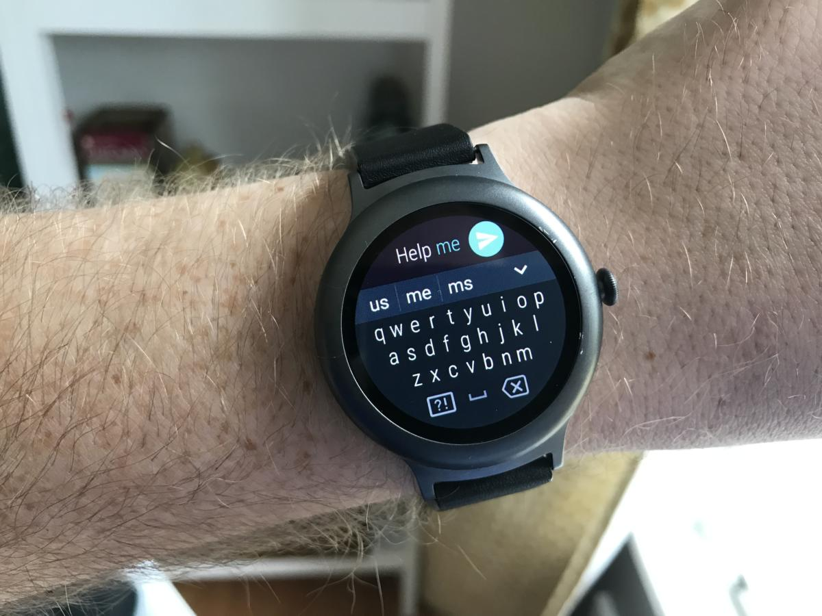 android wear iphone keyboard