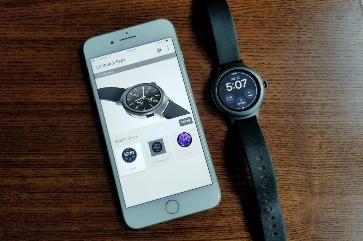 bf75dbb2e11a How to use an Android Wear watch with an iPhone—and why you might ...