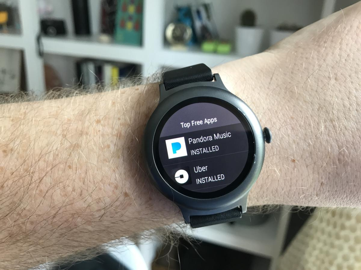 android wear iphone playstore