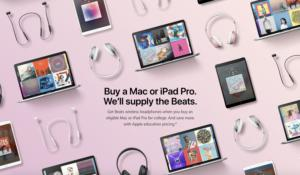 apple back to school promo