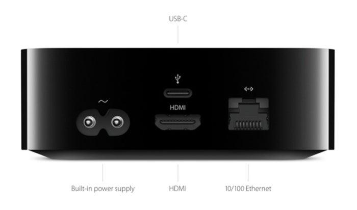 apple tv ports