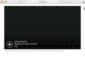 auto play video stopped safari 11