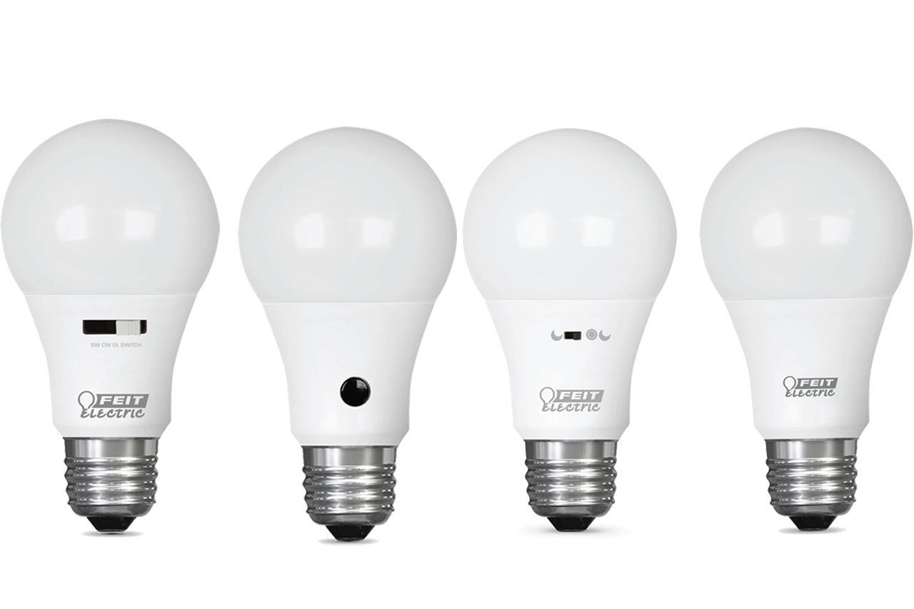 Feit Electric Intellibulb Review Colorchoice Switch To Dim Dusk Dawn And Motion Activated Techhive