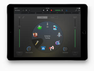garage band ipad one