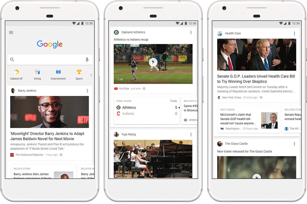 Google replaces Google Now with a new personalized feed   PCWorld