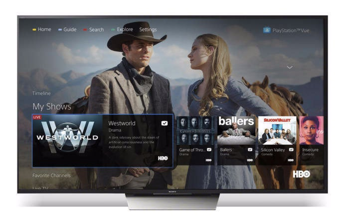 HBO on PlayStation Vue