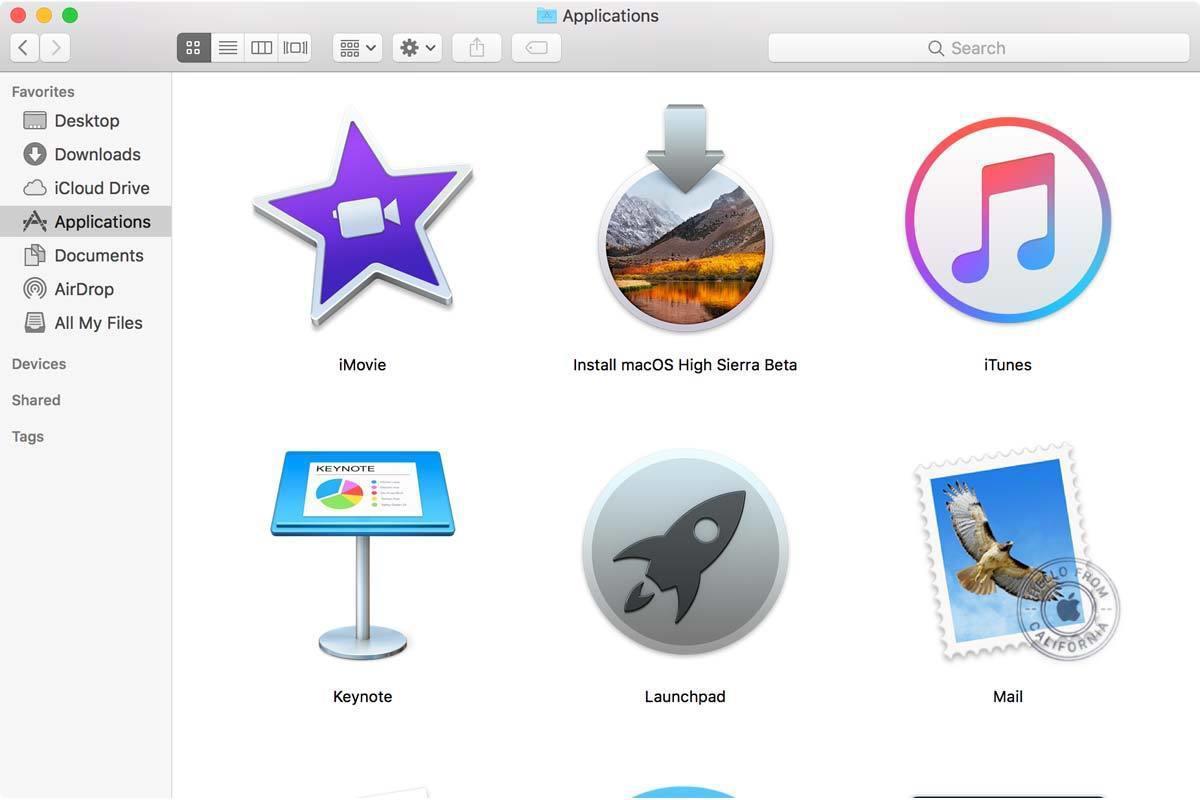 install macos high sierra app store