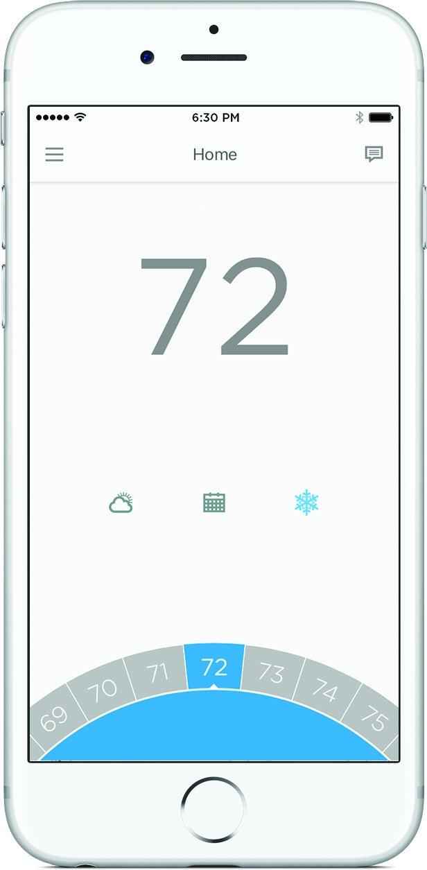 honeywell lyric t5 wi fi thermostat app