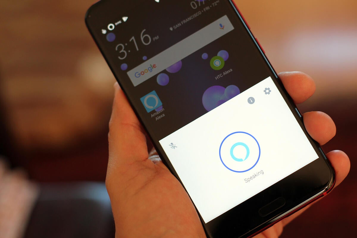 photo image How to use Alexa on HTC U11, no hands required