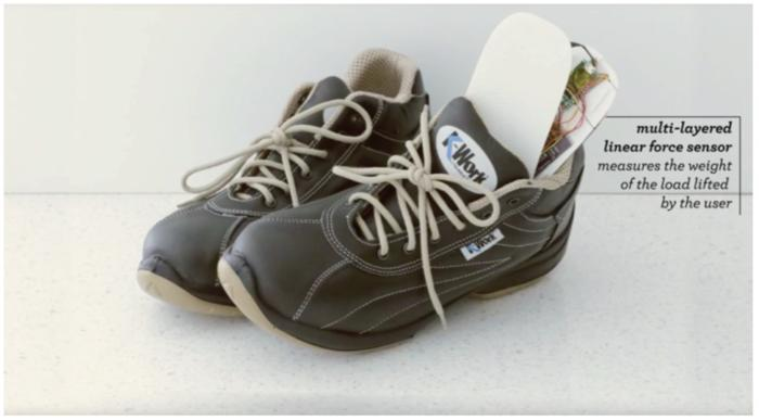 iot industrial shoes