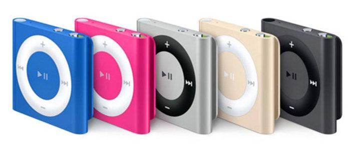 ipod shuffle lineup orig