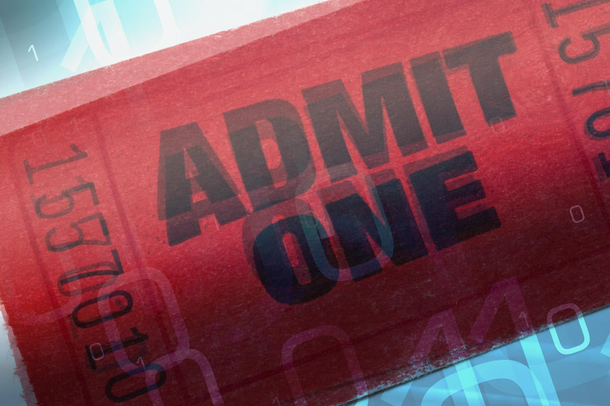 keys to access solutions admission movie ticket