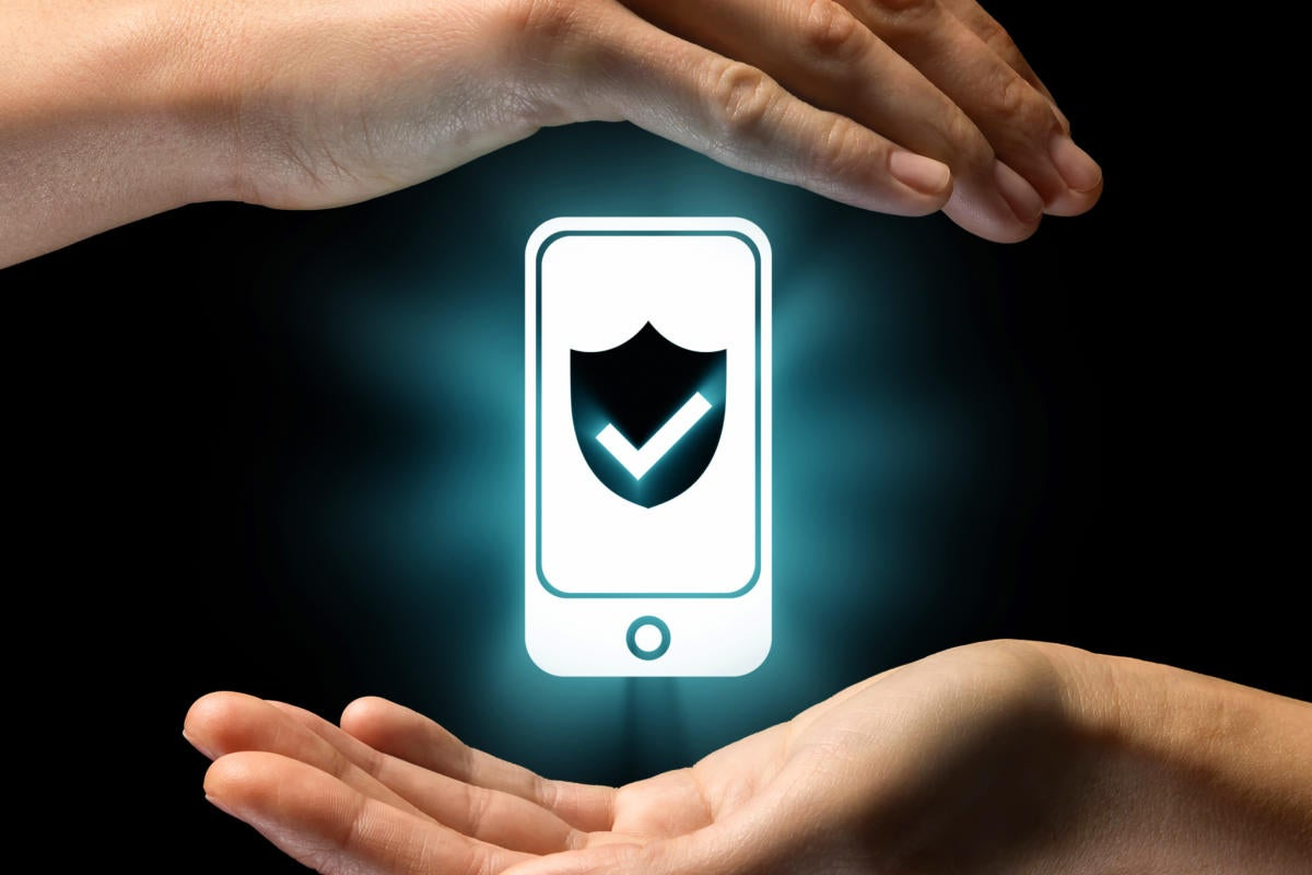 mobile security data protection [Thinkstock]