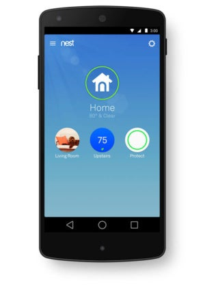 Nest Learning Thermostat app