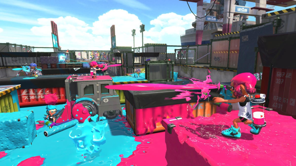 nintendo switch online splatoon