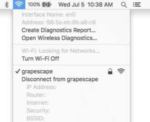 open wireless diag