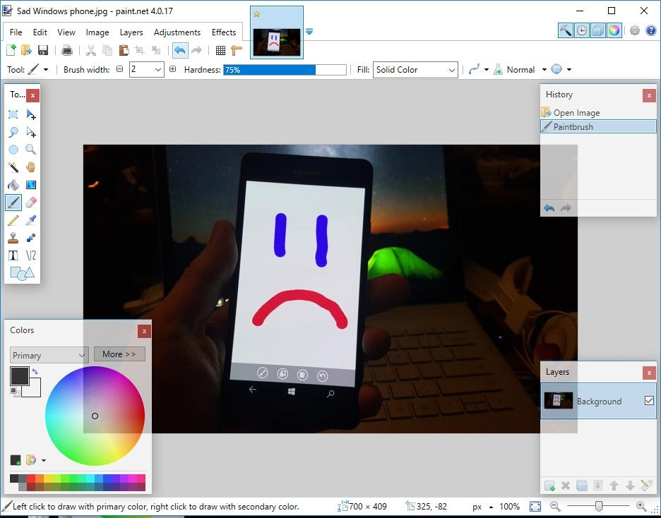 Can You Adjust Contrast In Microsoft Paint