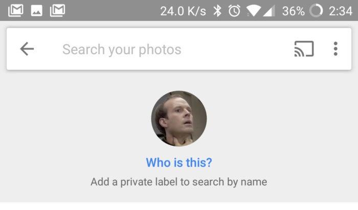 Google Photos People