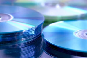 pile of cds dvds