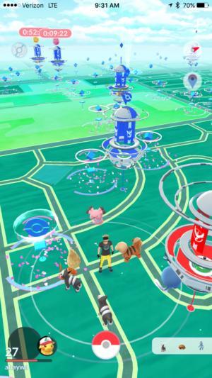 pokemon go fest screen
