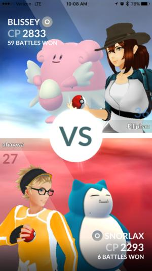 pokemongo raidbattle gymbattle