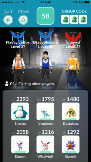 pokemongo raidbattle prep