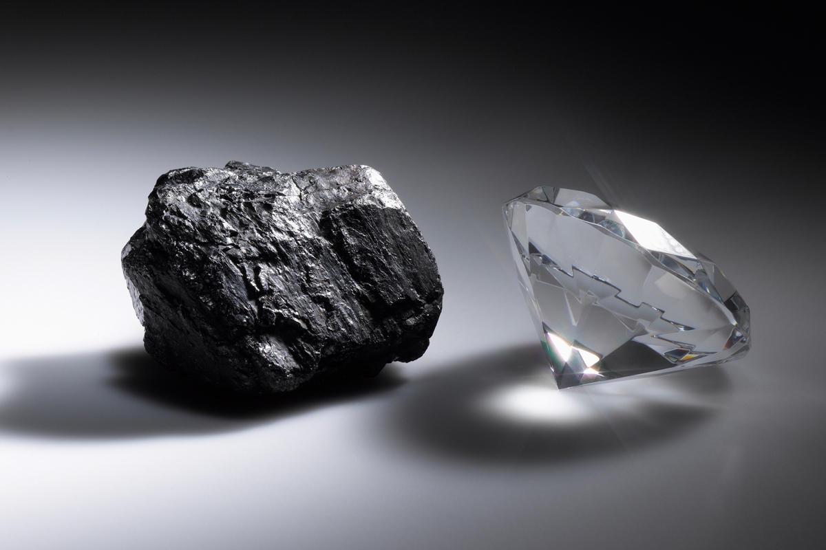 porting converting diamond in rough transform change