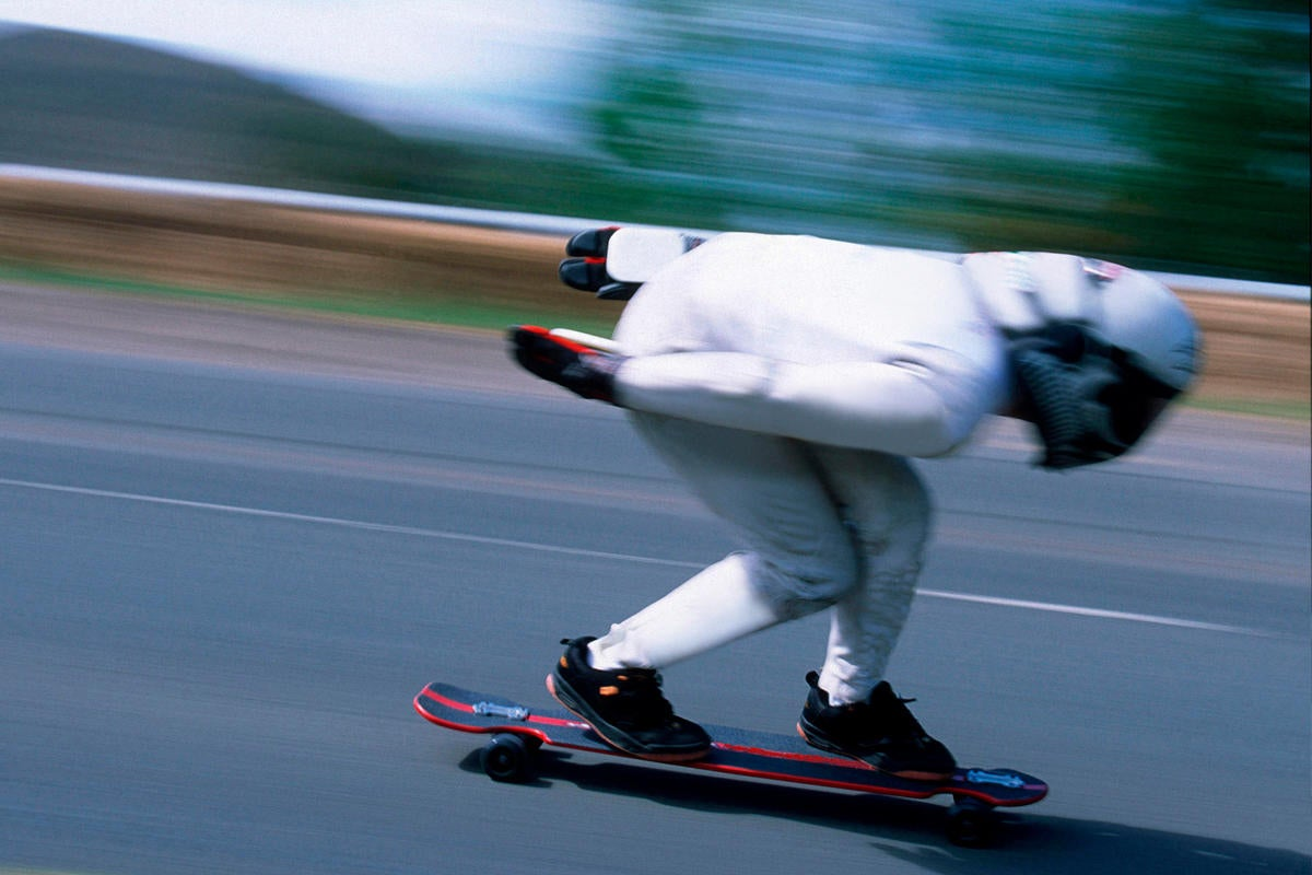 racing speed skateboard