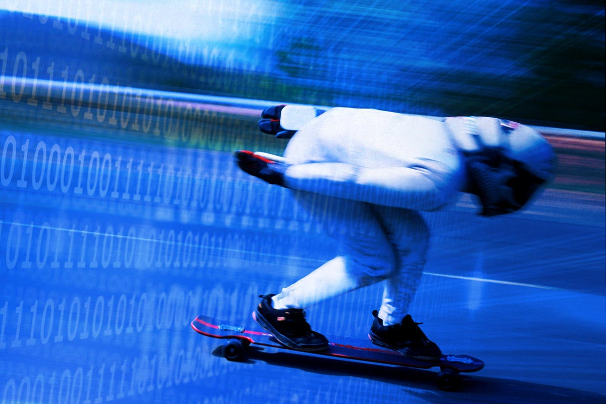 racing speed skateboard internet speed