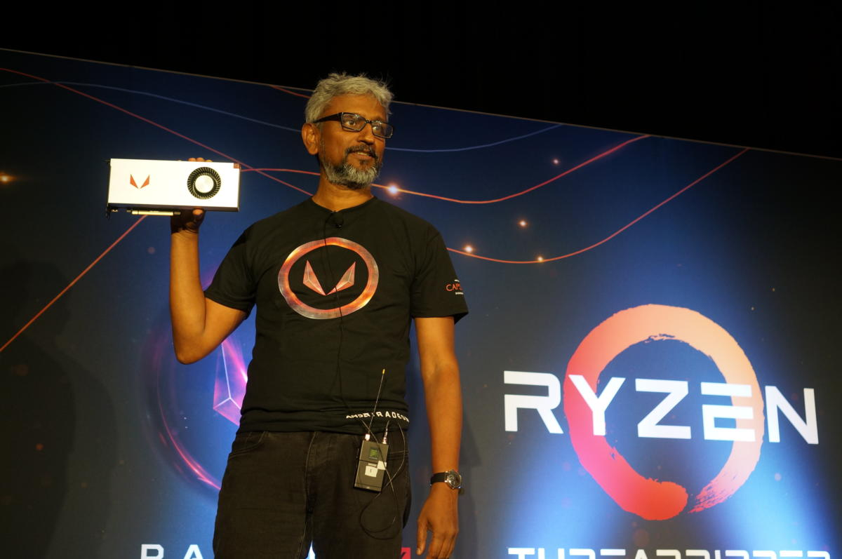 Radeon RX Vega 64 Raja Koduri