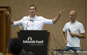 Reuters_Christopher Valasek_Charlie Miller at Blackhat